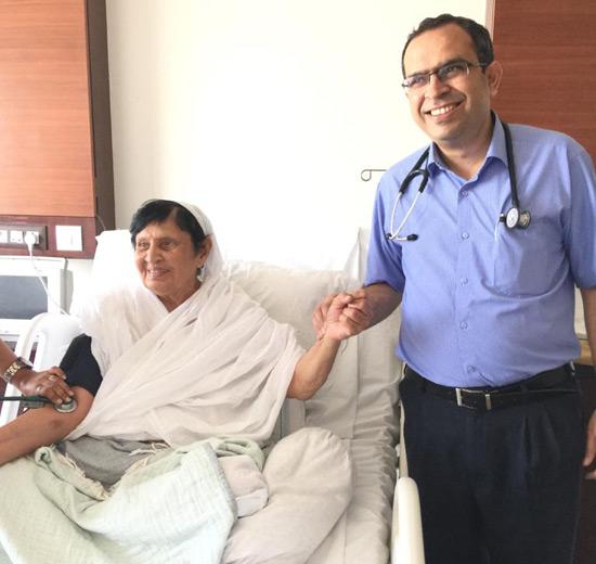 Acharyashrijis health