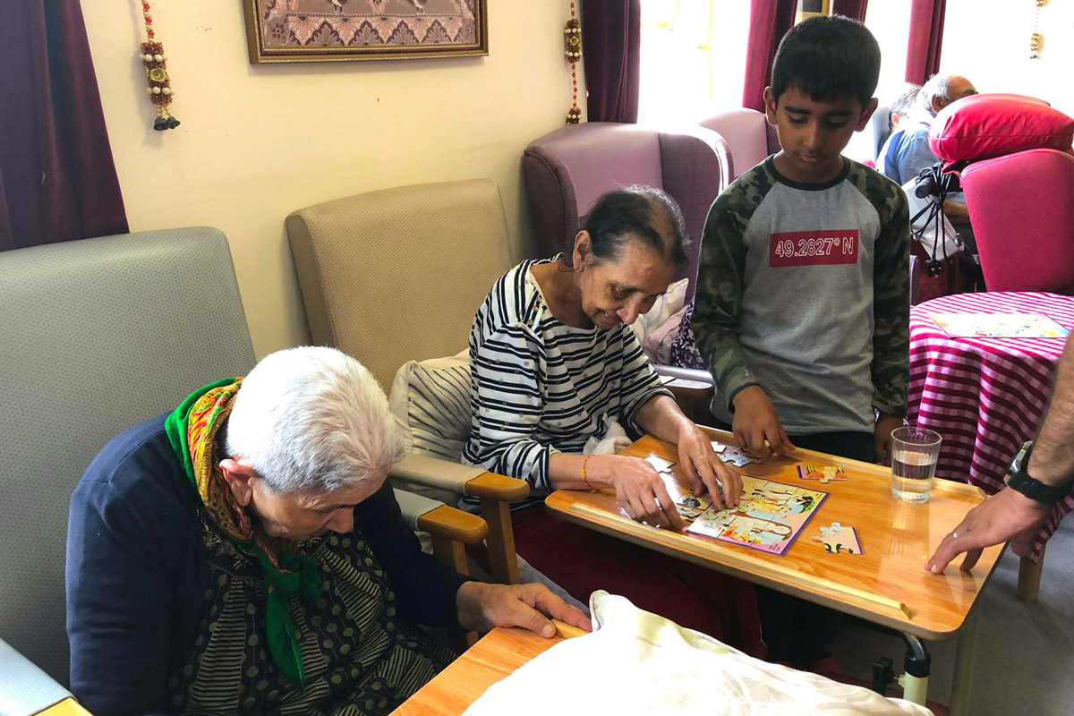Care home visit