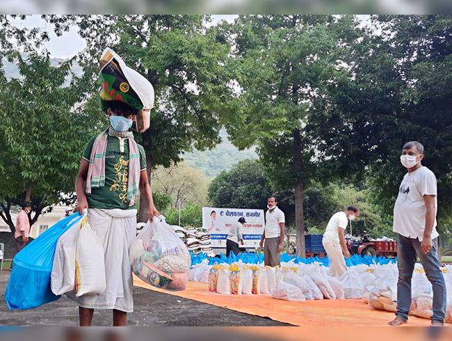 Covid-19 Relief work in Bihar