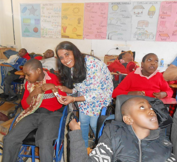 Fun and games at the Cerebral Palsy Unit