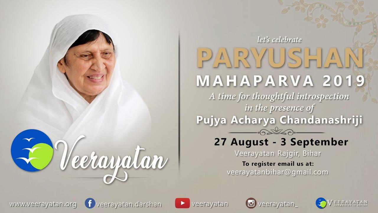 Paryushan with Acharyashriji
